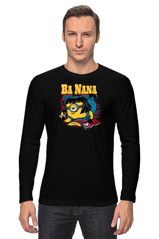 Лонгслив Printio Banana fiction цена
