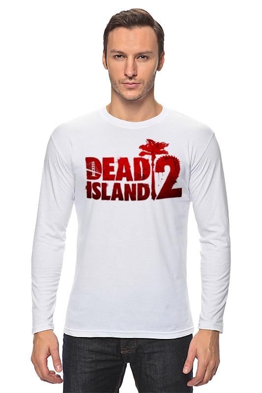 Лонгслив Printio Dead island 2 john escott dead man s island
