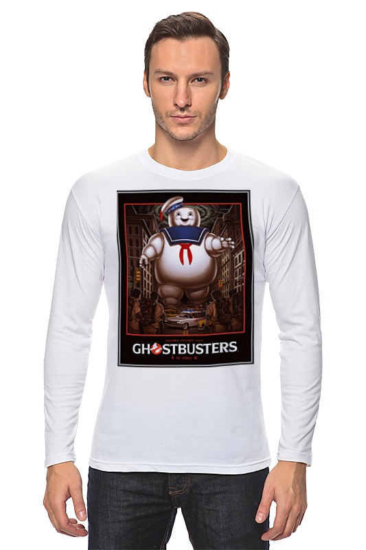 Лонгслив Printio Ghost busters ghost ghost meliora