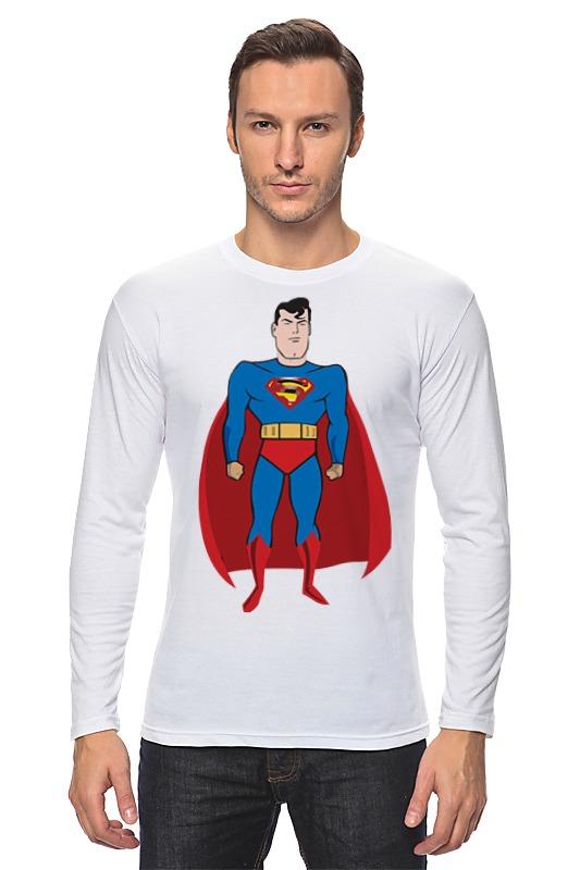 Лонгслив Printio Супермен (superman) цена