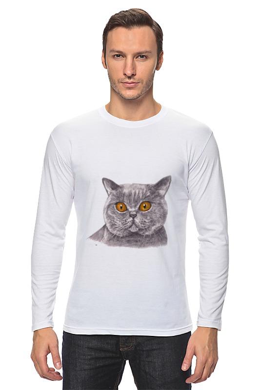 Лонгслив Printio Cats stray cats stray cats stray cats