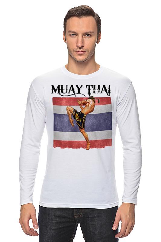 Лонгслив Printio Muay thai муай тай тайский бокс дмитрий щегрикович тайский бокс