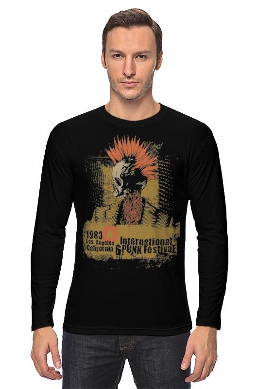 Лонгслив Printio Punk 1983 лонгслив printio punk rock