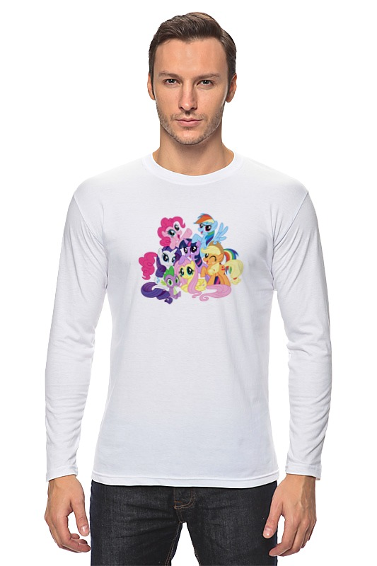 Лонгслив Printio My little pony hansa amm20bimh