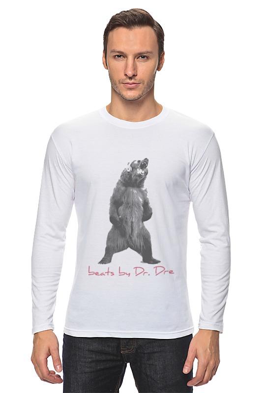 Лонгслив Printio Beats by dre футболка футболка wearcraft premium slim fit printio beats by dre футболка