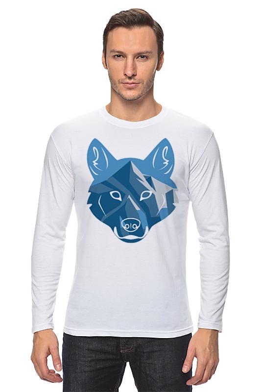Лонгслив Printio Волк (wolf) лонгслив printio lone wolf