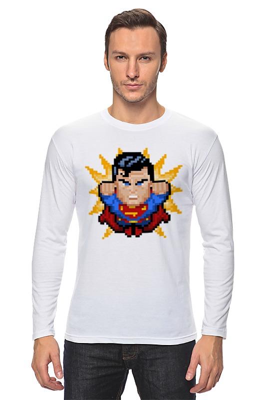 купить Лонгслив Printio Супермен по цене 1228 рублей