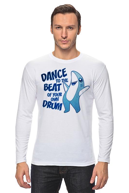 Лонгслив Printio Танцующая акула вячеслав бакулин танцующая