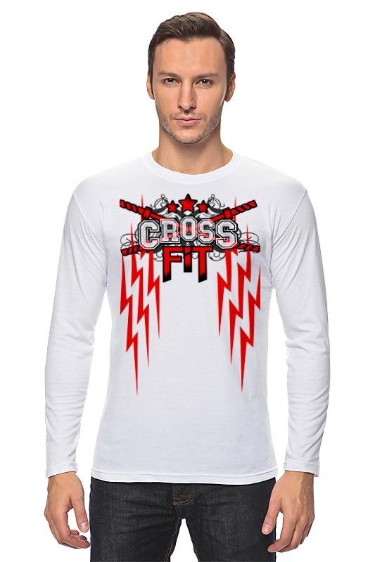 Лонгслив Printio Crossfit скакалка скоростная proxima crossfit jr 7001 r red