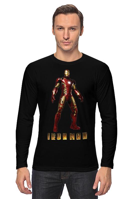 Лонгслив Printio Ironman / железный человек iclebo arte ironman edition