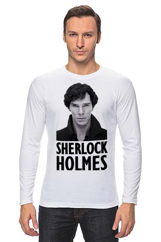 Лонгслив Printio Sherlock holmes dayle a c the adventures of sherlock holmes рассказы на английском языке