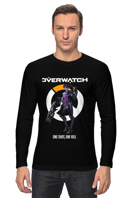 Лонгслив Printio Overwatch. роковая вдова футболка классическая printio overwatch роковая вдова