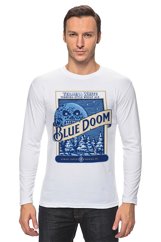 Лонгслив Printio Blue doom (the legenda of zelda) legenda comfort 735