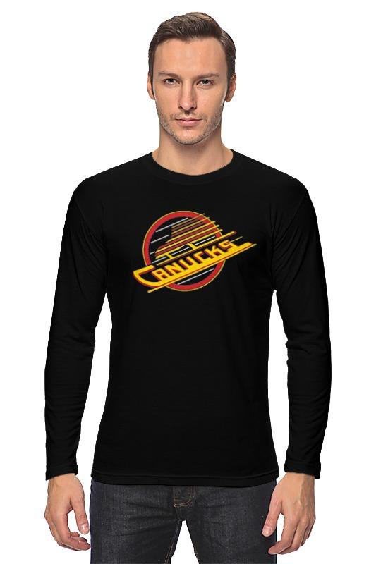 Лонгслив Printio Vancouver canucks / nhl canada детская футболка классическая унисекс printio vancouver canucks nhl canada