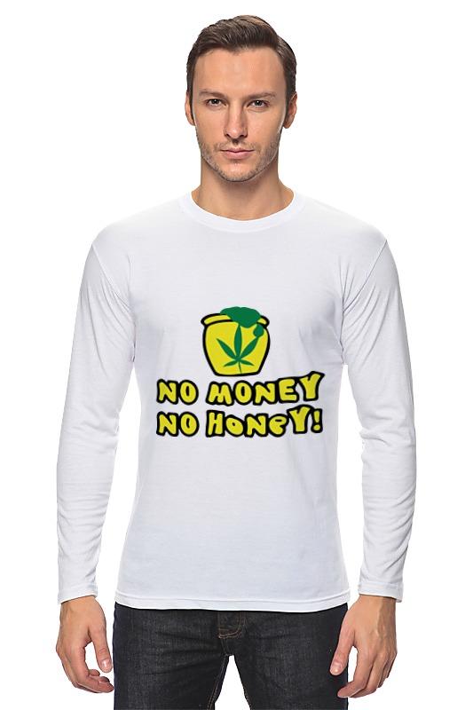 Лонгслив Printio No money no honey! (нет денет, нет меда!) лонгслив printio нет проблем no prob llama