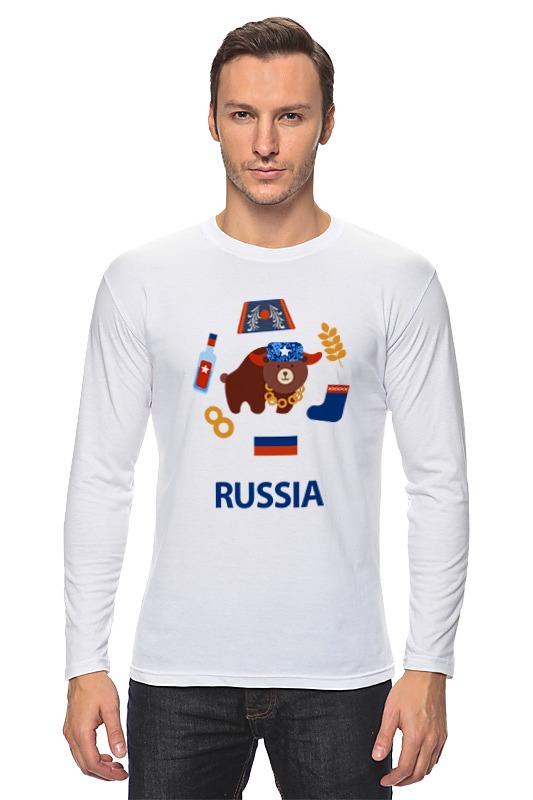 Лонгслив Printio Россия (russia) лонгслив printio россия russia