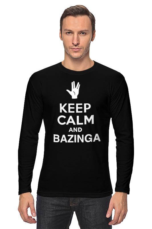 все цены на Лонгслив Printio Bazinga (the big bang theory)