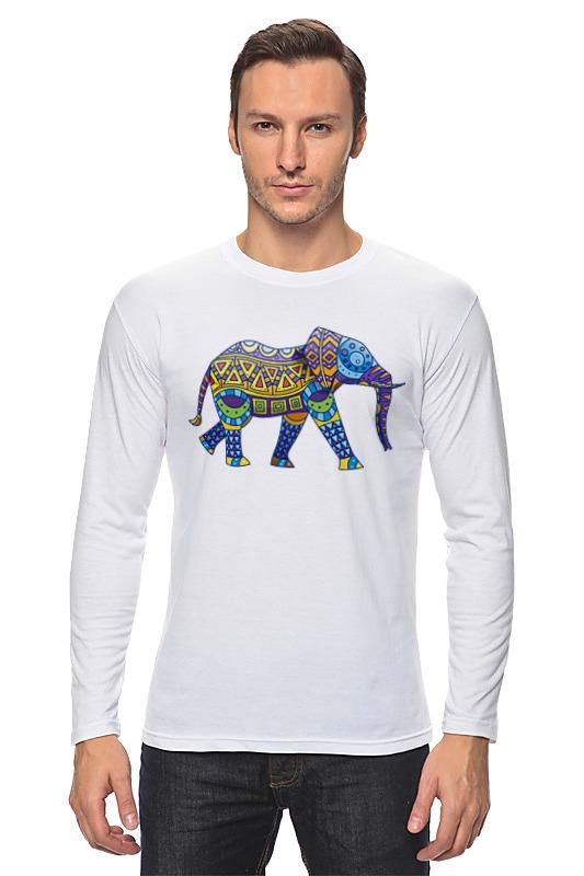 Лонгслив Printio Индийский слон