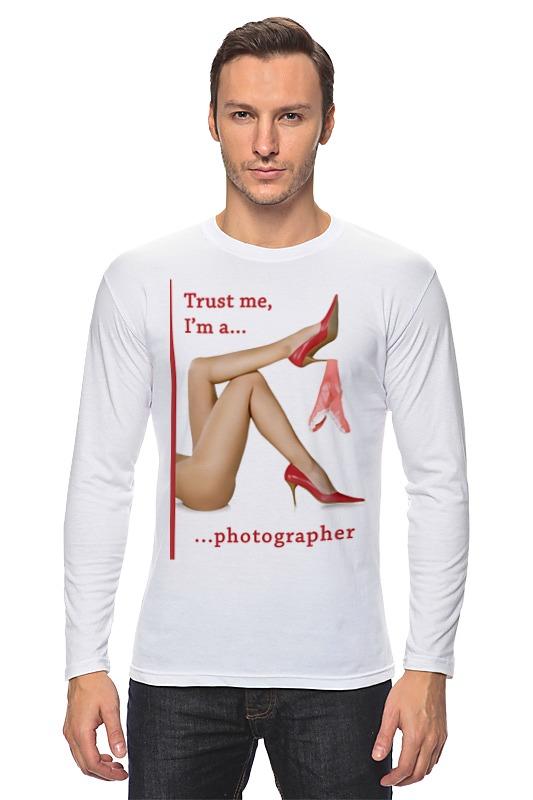 Лонгслив Printio Trust me, i'm a photographer лонгслив printio trust me