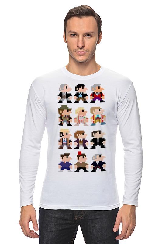 Printio Доктор кто (8-bit) футболка wearcraft premium printio доктор кто 8 bit