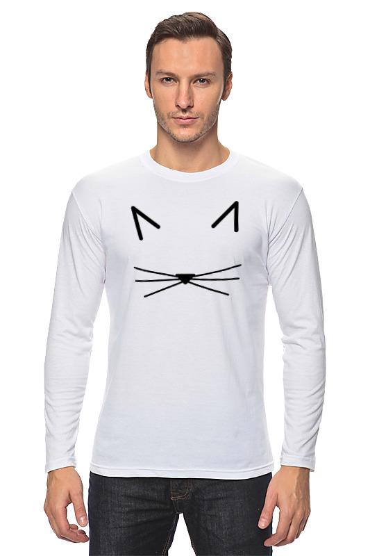 Лонгслив Printio Кошка лонгслив printio девушка кошка
