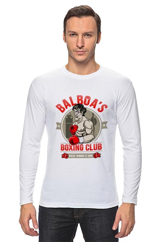 Лонгслив Printio Balboa's boxing club ароматизатор auto standart boxing club экзотика