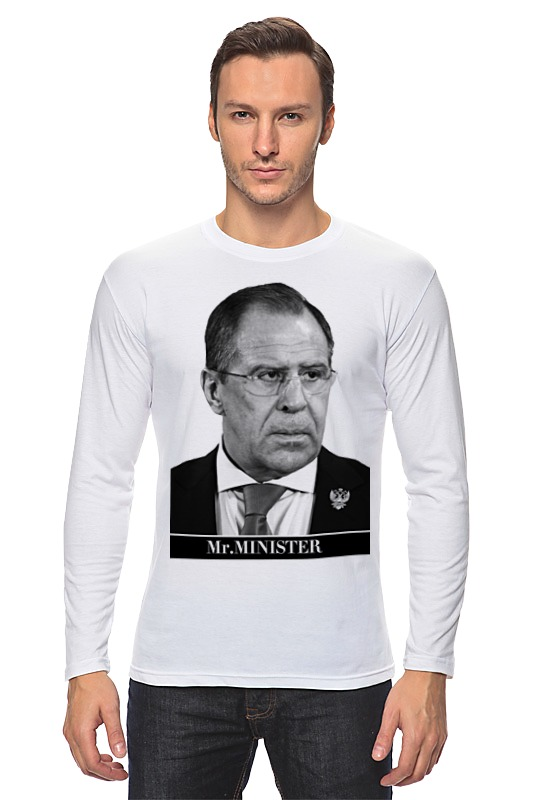 Лонгслив Printio Mr minister