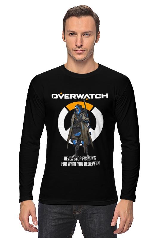 Лонгслив Printio Overwatch. ана мобильный телефон bq mobile bq 2425 charger dark blue