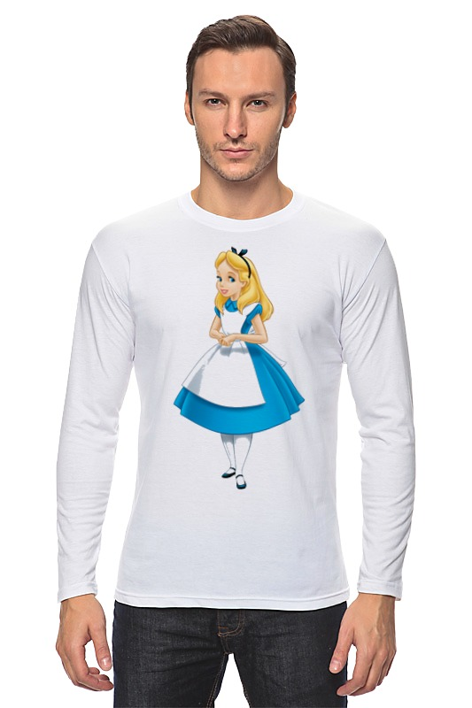 Лонгслив Printio Алиса алиса алиса шестой лесничий
