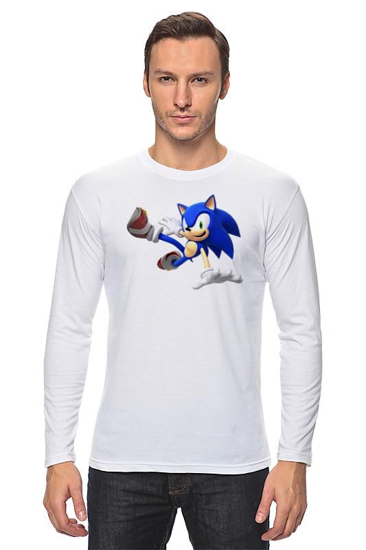 Лонгслив Printio Sonic dance футболка классическая printio sonic dance
