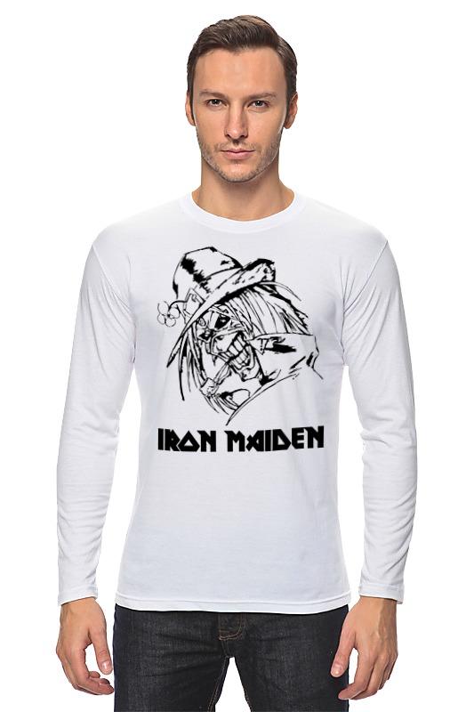 Лонгслив Printio Iron maiden iron maiden iron maiden running free live