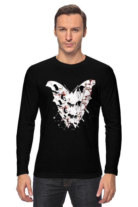 Лонгслив Printio Бабочка ангела смерти футболка wearcraft premium printio бабочка ангела смерти