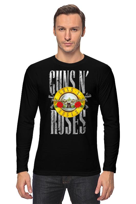 Лонгслив Printio Guns n' roses guns n roses guns n roses live in new york city february 2 1988