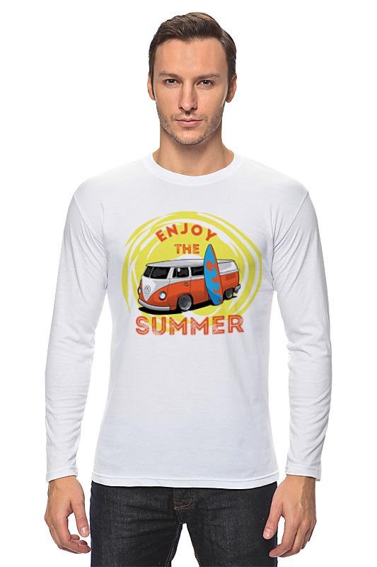Лонгслив Printio Наслаждайся летом! билет на автобус пенза белинский