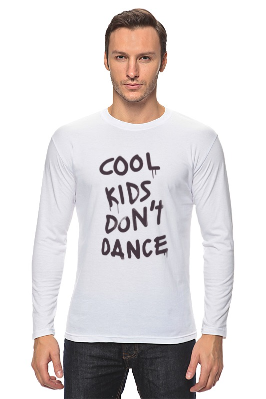 Лонгслив Printio Cool kids don't dance лонгслив s cool
