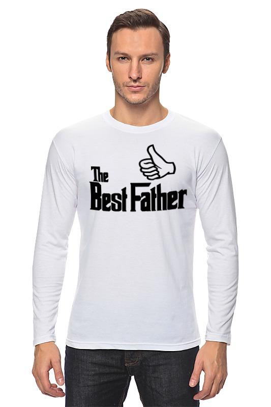 цена на Лонгслив Printio The best father, лучший отец