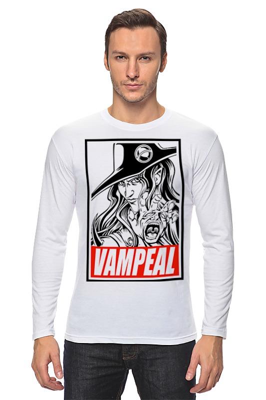 Лонгслив Printio Охотник на вампиров