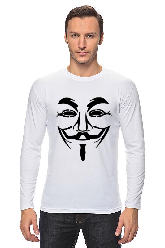 Printio Маска анонимуса лонгслив printio маска свина