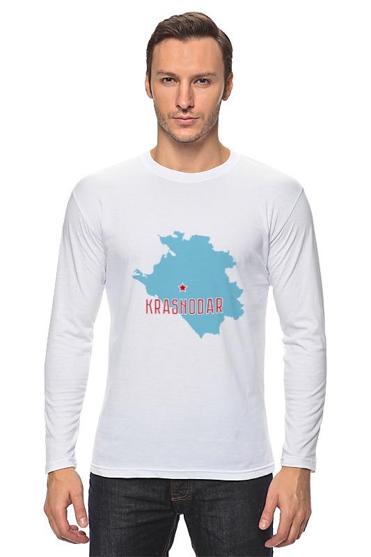 Лонгслив Printio Краснодарский край. краснодар