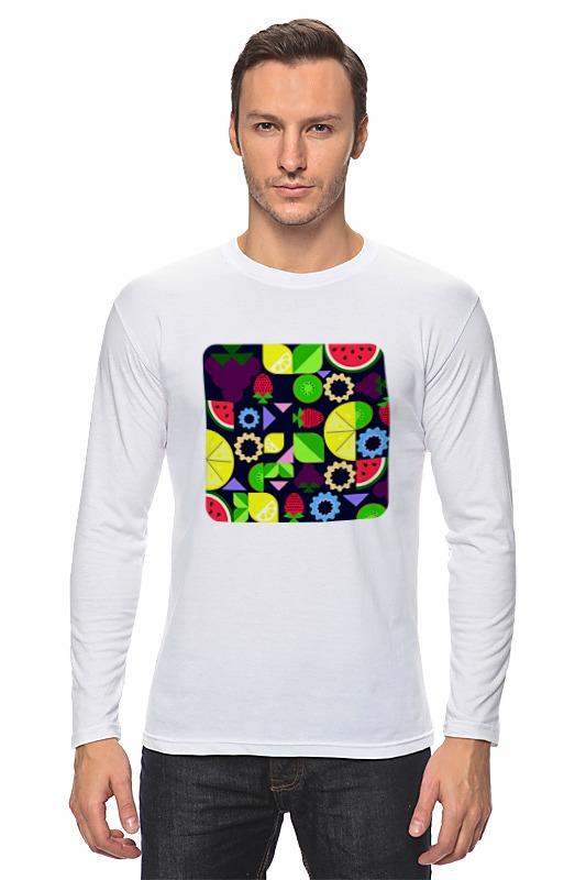 Лонгслив Printio Виноград и другие фрукты и ягоды футболка wearcraft premium printio виноград и другие фрукты и ягоды