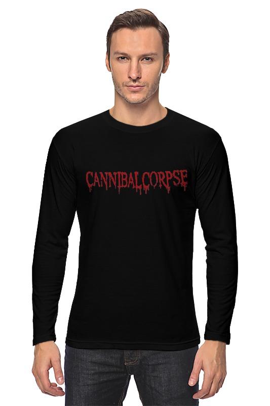 Лонгслив Printio Cannibal corpse logo майка классическая printio cannibal corpse logo