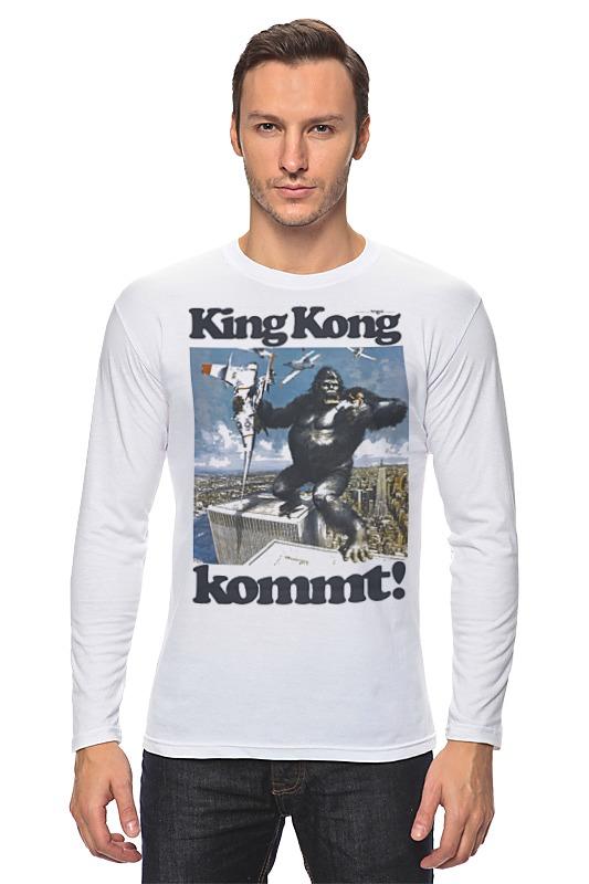 Лонгслив Printio King kong футболка стрэйч printio kong is king кинг конг