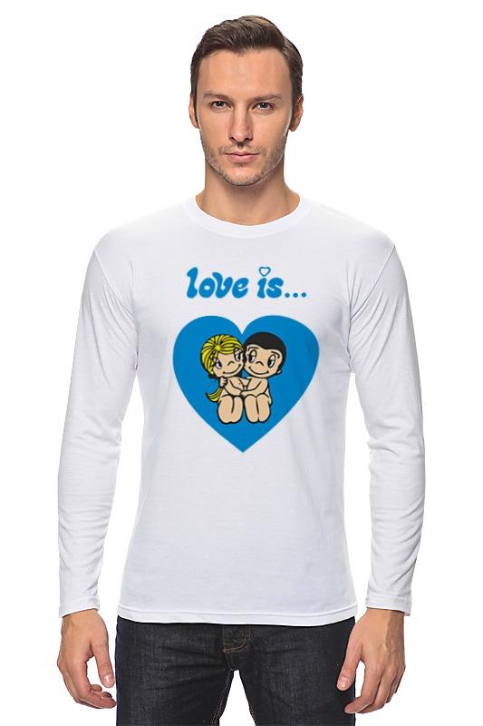 Лонгслив Printio Love is... отсутствует love is… моему любимому