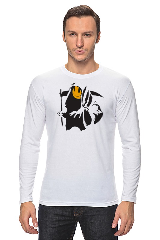 Лонгслив Printio Жнец (reaper) grim reaper