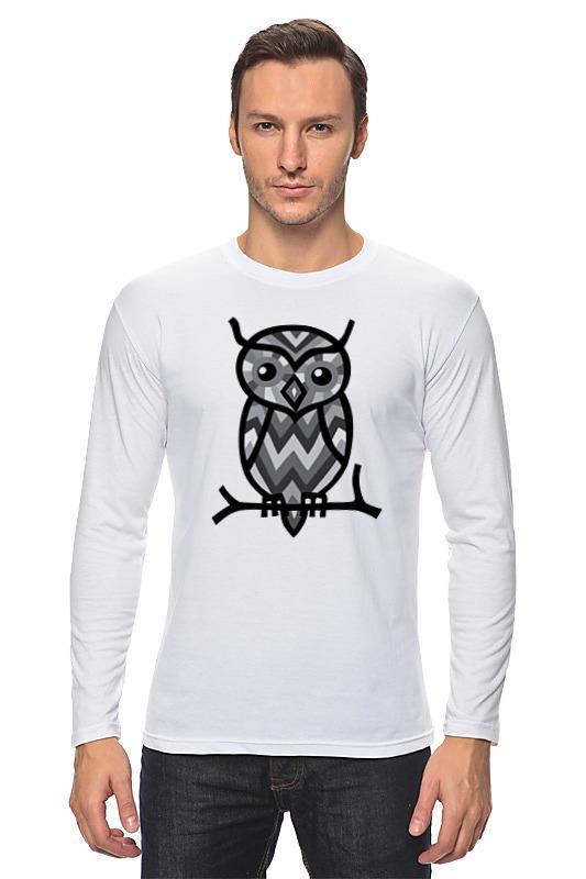 Лонгслив Printio Сова (owl) owl design pendant necklace