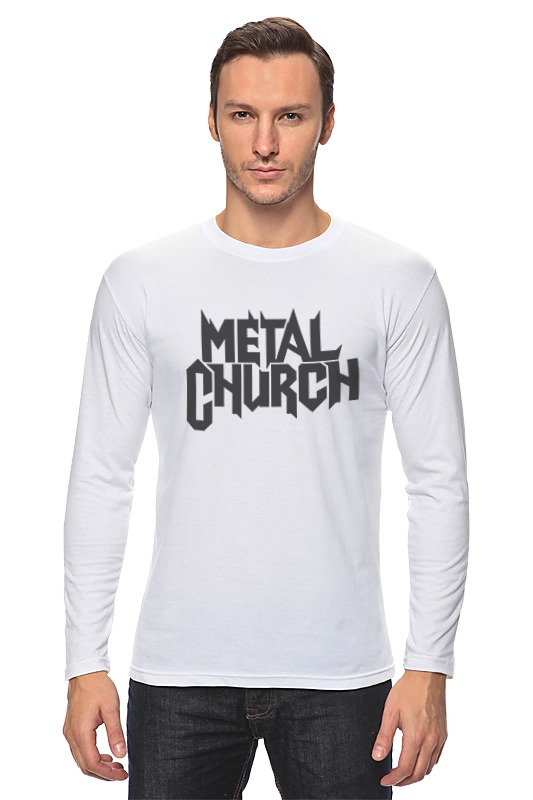 Лонгслив Printio Metal church