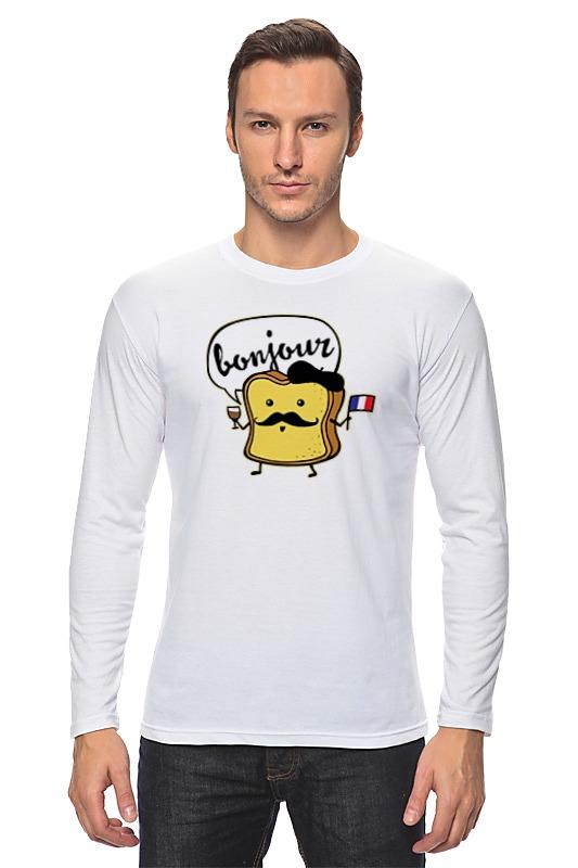 Лонгслив Printio Французский хлеб футболка хлеб