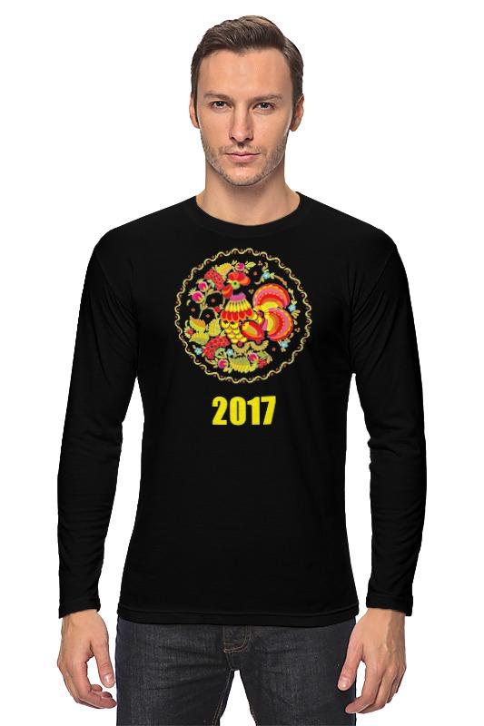 Лонгслив Printio 2017 - год красного петуха скальп петуха veniard chinese cock cape