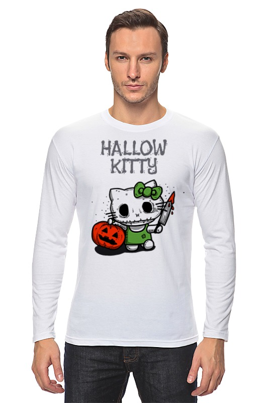 Лонгслив Printio Hallow kitty майка борцовка print bar minion mummy