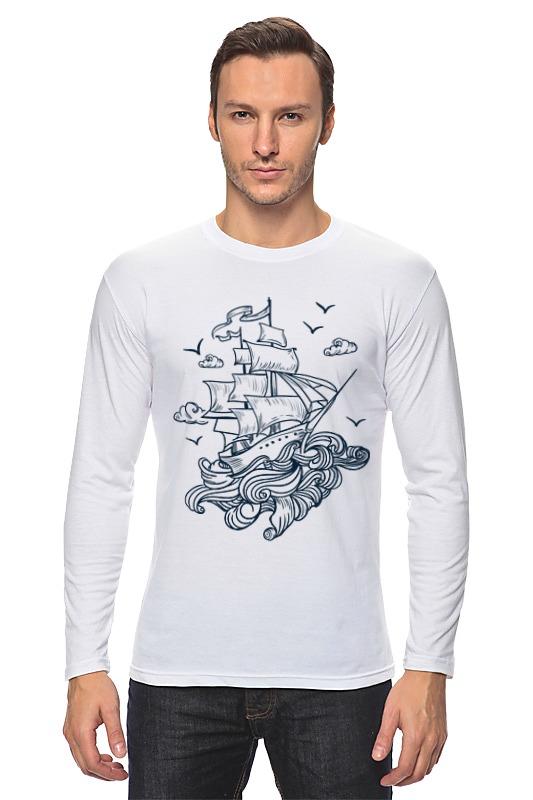 Лонгслив Printio Летучий голландец футболка wearcraft premium slim fit printio летучий голландец